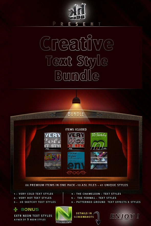Creative Text Styles Bundle