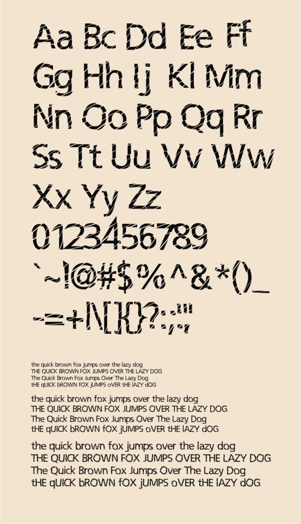 Irisan Slice Font - Fonts