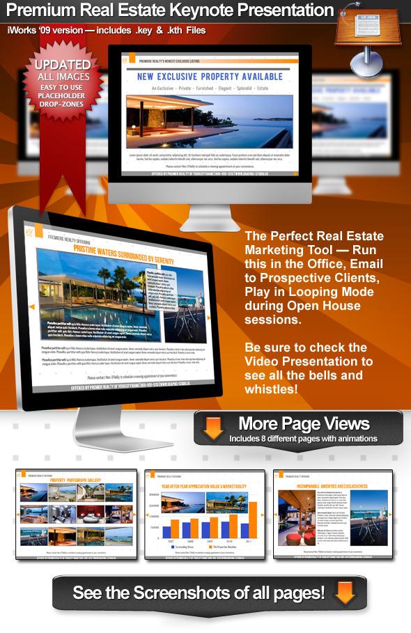 Premium Real Estate - Keynote Presentation - Business Keynote Templates