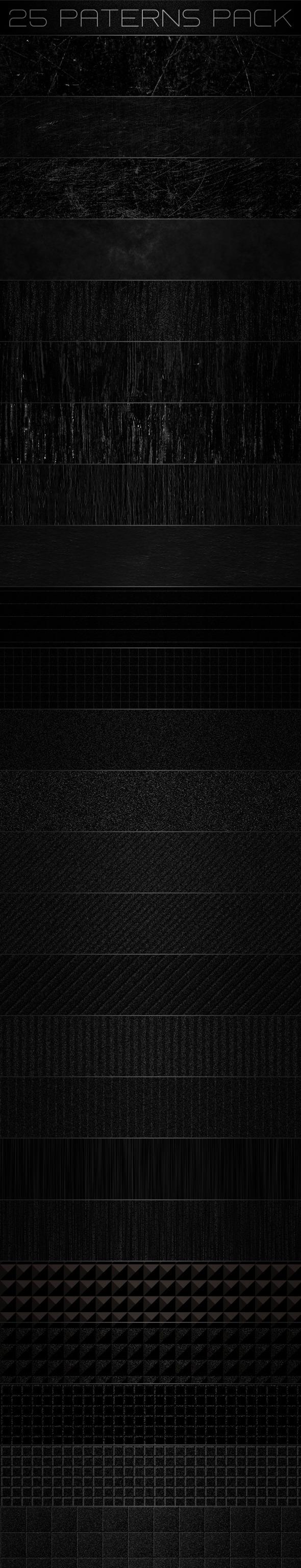 Dark Patterns - Urban Textures / Fills / Patterns
