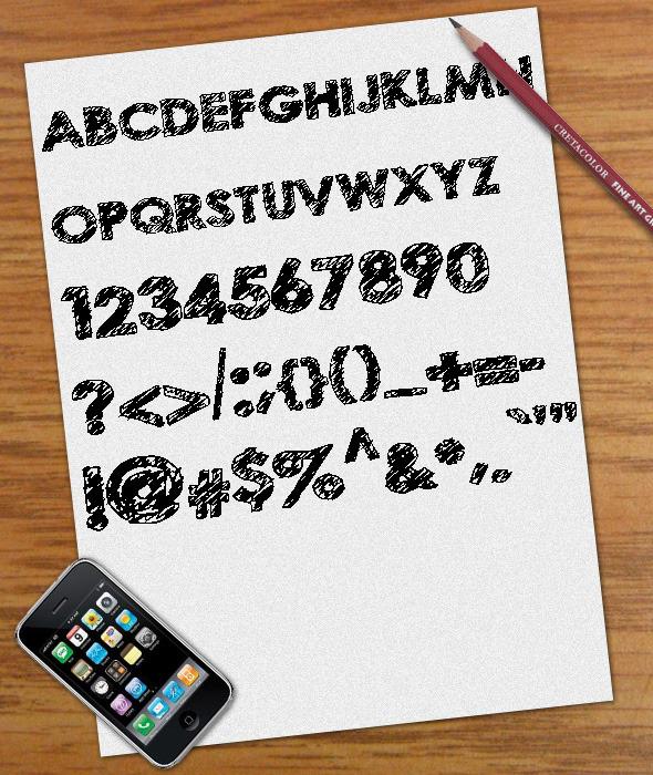 Scribble Font - Sans-Serif Fonts