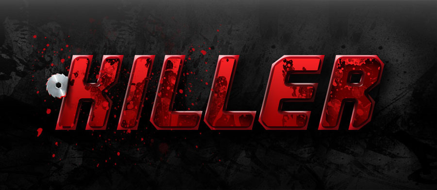 horror halloween creepy layer styles text effects by
