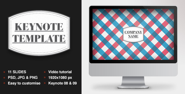 Graphic Keynote Template - Creative Keynote Templates