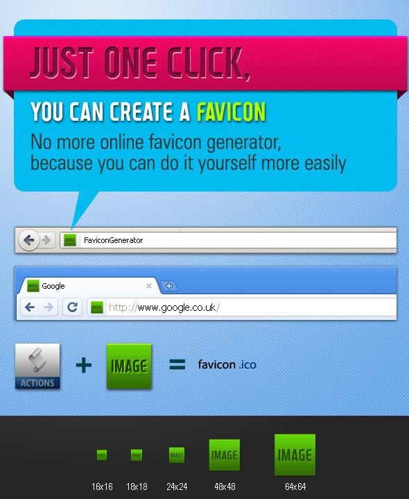 Favicon Generator - Action