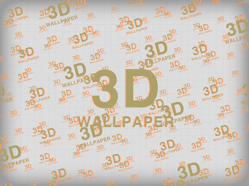 Real 3d Anaglyph Text Shape Wallpaper Generator