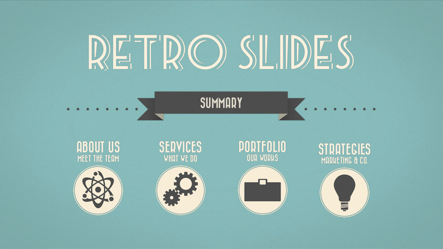 Retro slides keynote template full hd by opendept graphicriver retro slides keynote template full hd pronofoot35fo Images