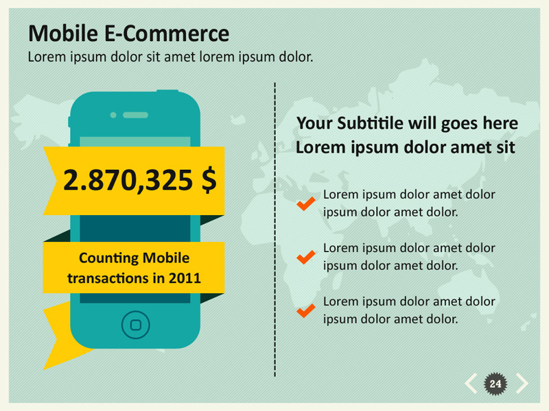 e-commerce infographic powerpoint templatekh2838 | graphicriver, Presentation templates