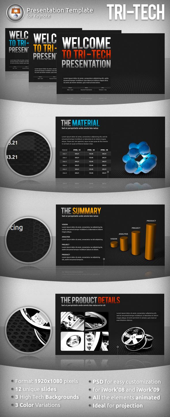 Tri-Tech Keynote Presentation - Business Keynote Templates