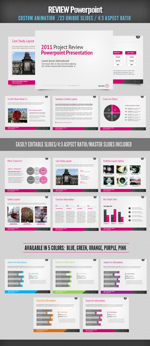 Review powerpoint by designdistrict graphicriver review powerpoint toneelgroepblik Choice Image
