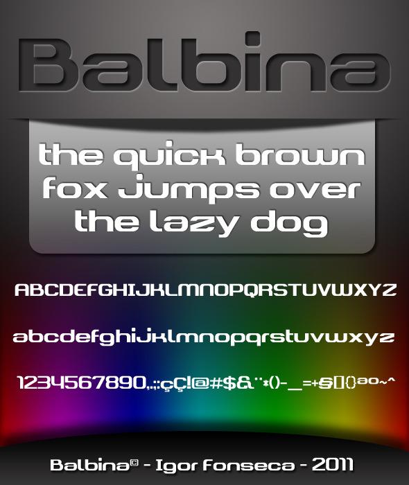 Balbina Font - Sans-Serif Fonts