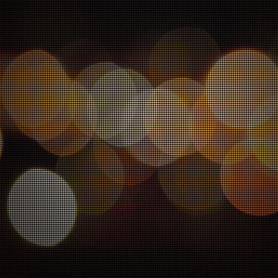 led dot screen effect generator by mornee