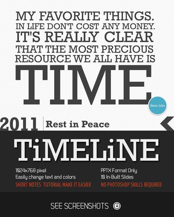 Timeline PowerPoint Presentation - Creative PowerPoint Templates