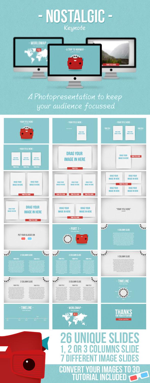 Nostalgic Keynote - Creative Keynote Templates