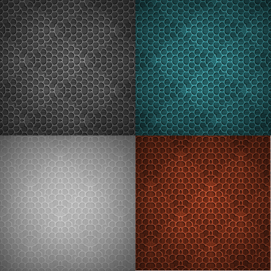 20 Carbon Mesh - Seamless Patterns