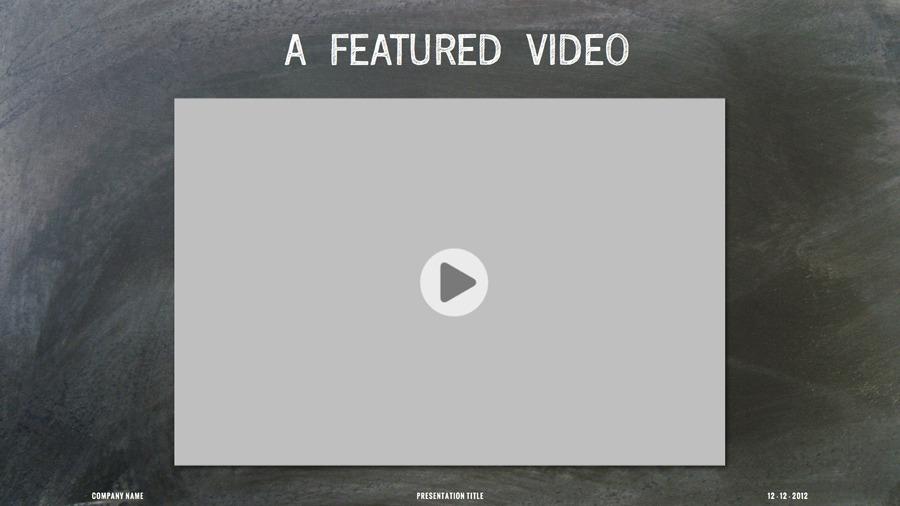 Chalk Dust Keynote Presentation Template by 83MUNKIS | GraphicRiver