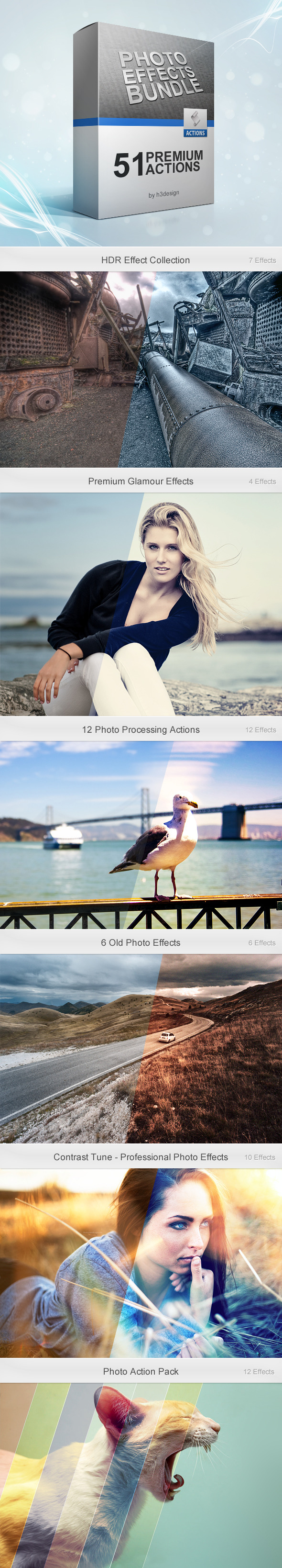 Photo Effects Bundle - Photo Effects Actions