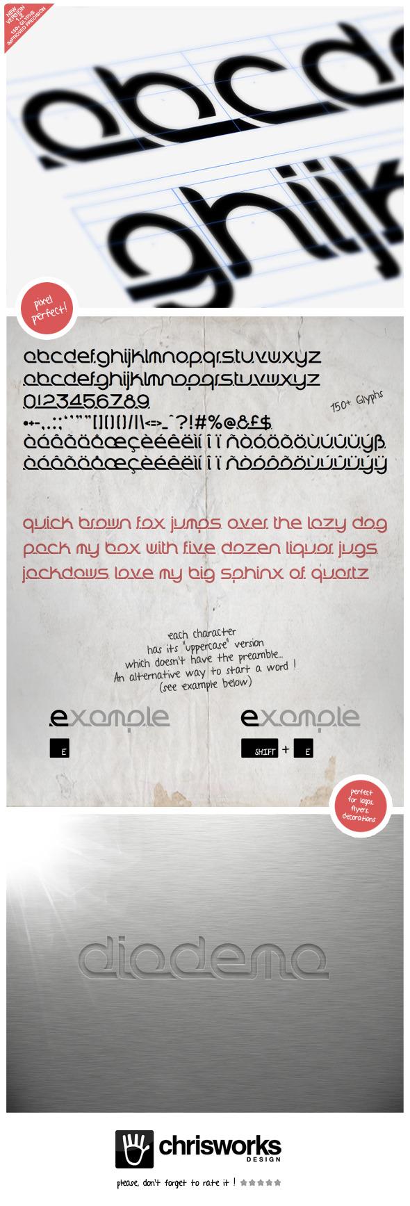 Diadema - Sans-Serif Fonts