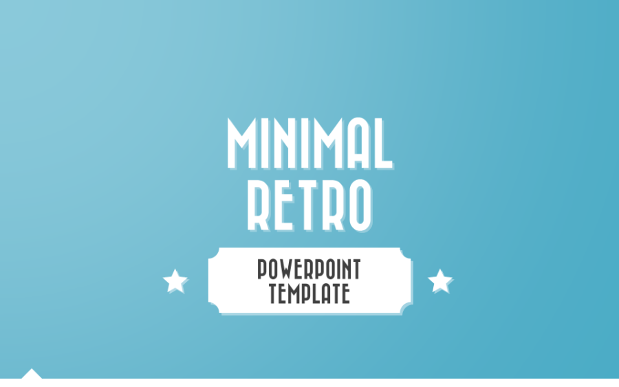 Minimal Retro Powerpoint Template By Melonadestudios Graphicriver
