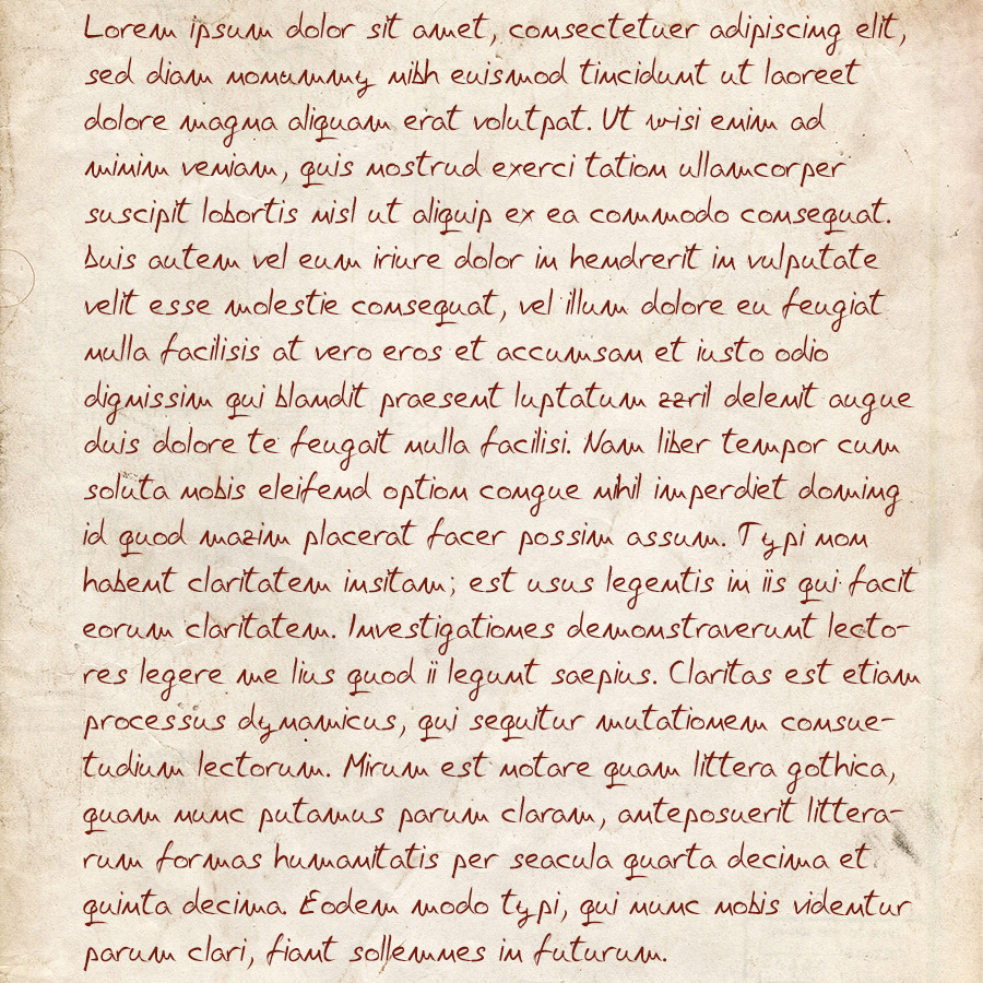 Nikola T. Free Hand Script