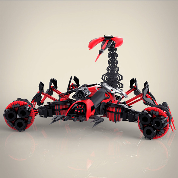 Robotic Scorpio - 3DOcean Item for Sale
