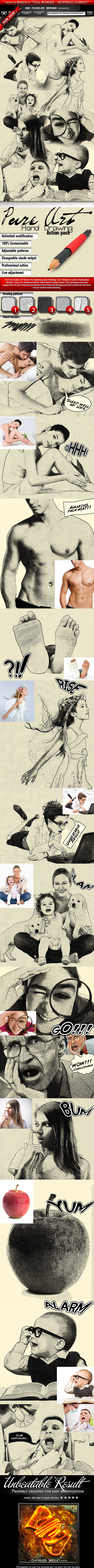 Pure art hand drawing by mrcharlesbrown graphicriver pure art hand drawing malvernweather Image collections