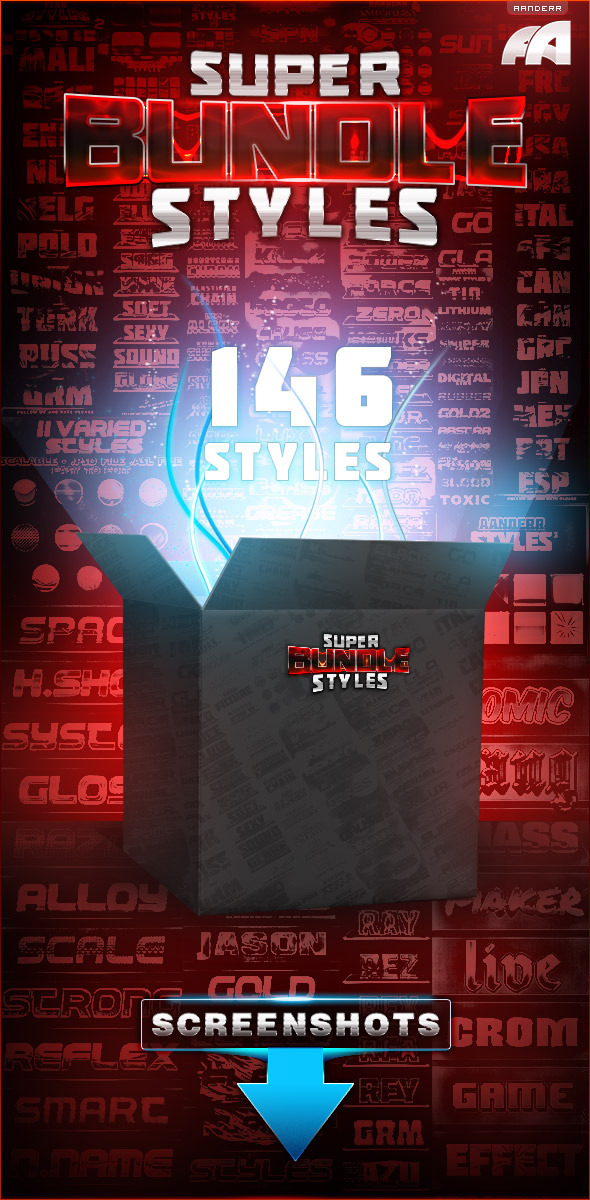 Super Bundle Styles - Text Effects Styles