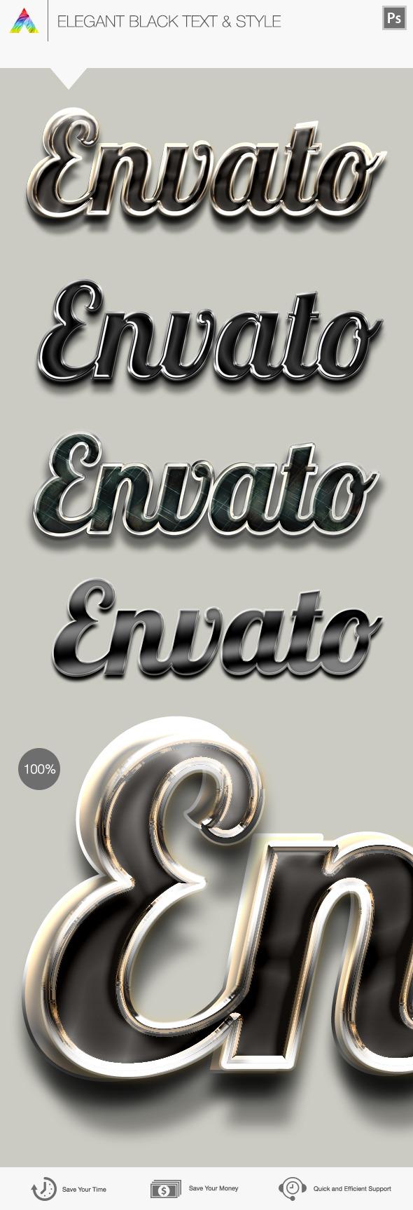 Elegant Text & Style - Text Effects Styles