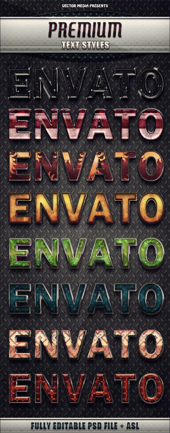 Premium Text Styles - Text Effects Styles