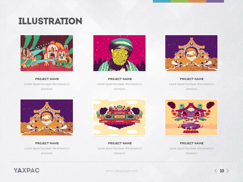 Yaxpac powerpoint presentation template by eamejia graphicriver illustration portfoliog toneelgroepblik Image collections