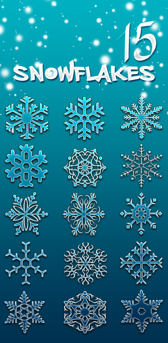 Snowflake Brushes - Miscellaneous Brushes