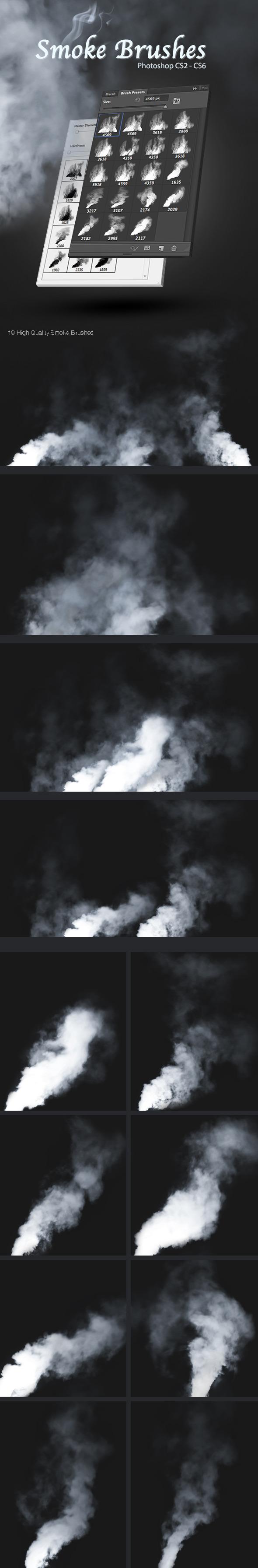 Smoke Brushes - Brushes Photoshop