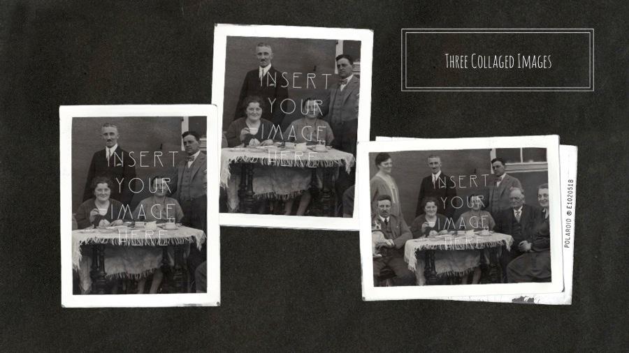 photo album powerpoint template