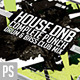 House Drum n Bass CD Artwork Template
