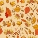 Autumn Composition with Yellow and Red Leaves - GraphicRiver Item for Sale