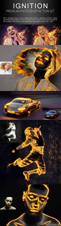 Ignition - Premium Photoshop Action Set - Photo Effects Actions