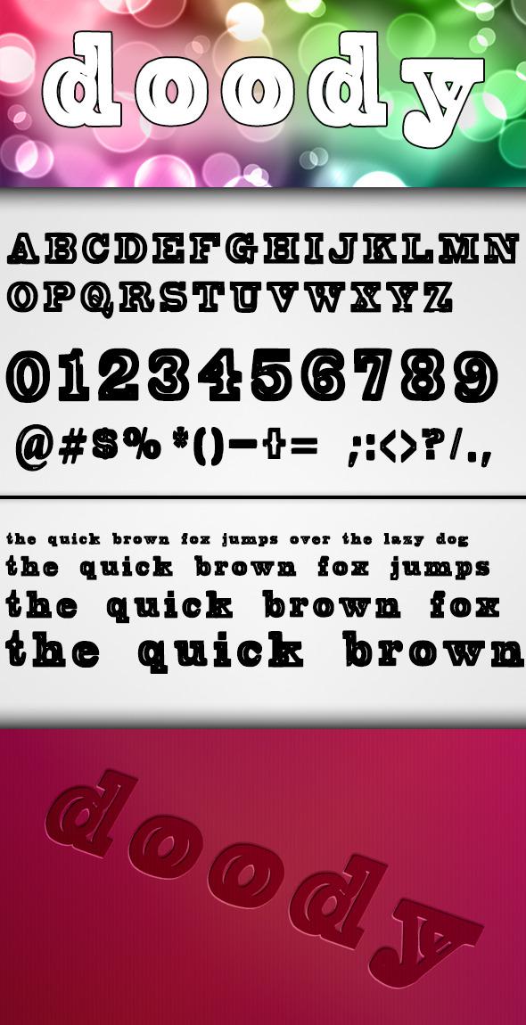 Doody Font - Comic Decorative