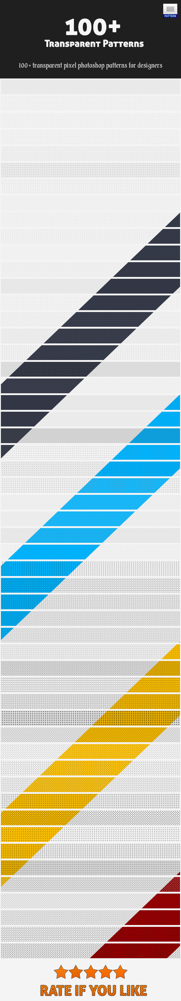 Transparent Patterns - Miscellaneous Textures / Fills / Patterns
