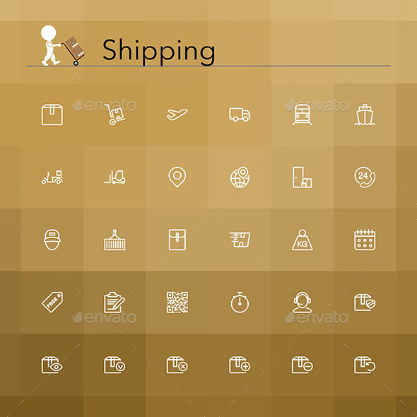 Shipping Icons - Business Icons