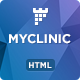 MyClinic - Medical HTML Landing Page Nulled