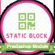 Static block creater Prestashop module - CodeCanyon Item for Sale