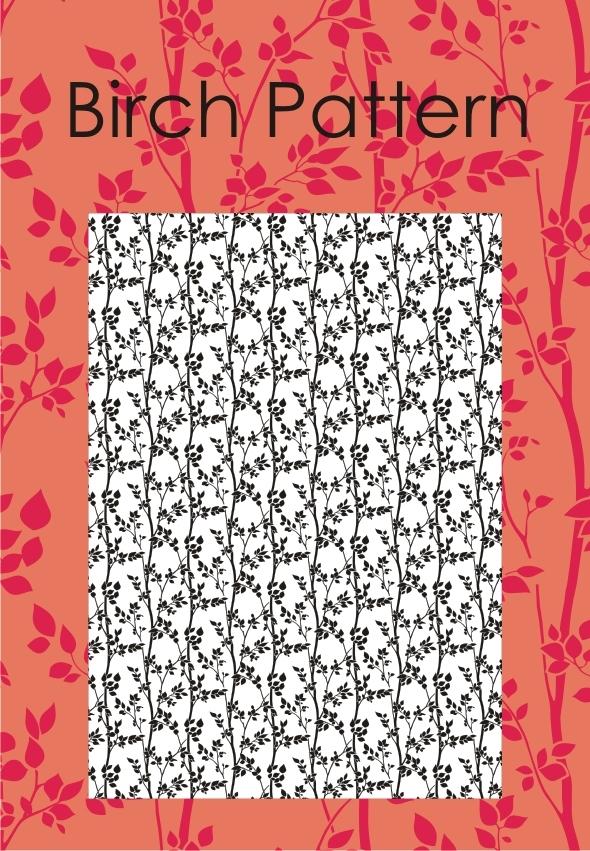 Birch Pattern - Nature Textures / Fills / Patterns