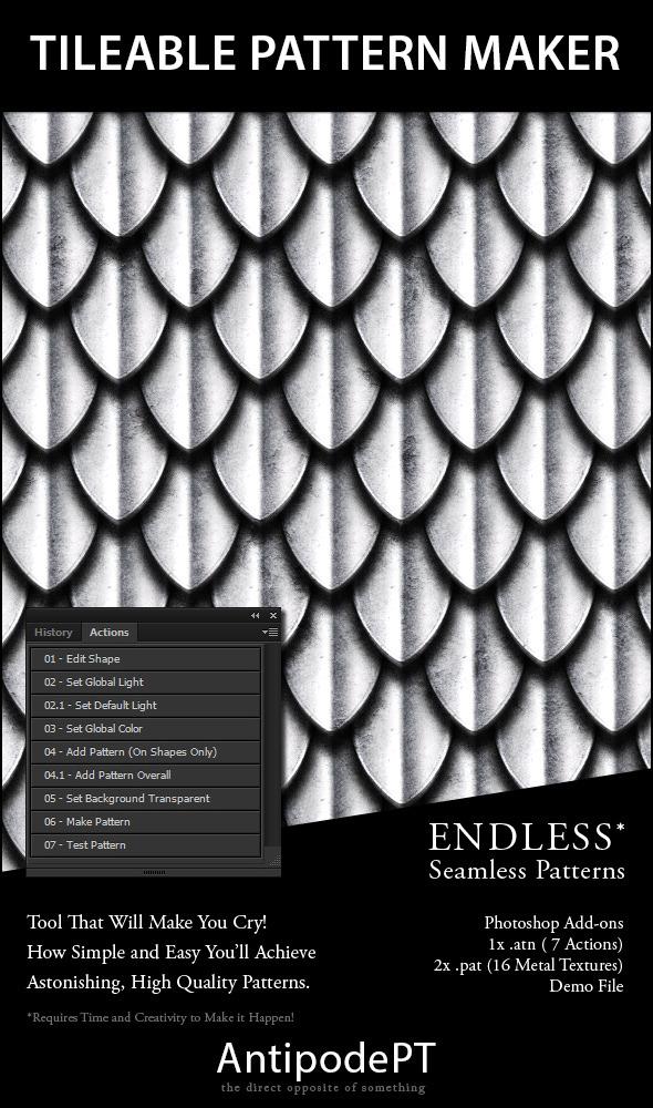 Tileable Pattern Maker - Add-ons