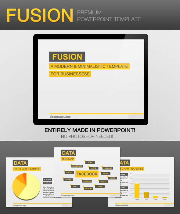 Fusion PowerPoint Template - Business PowerPoint Templates