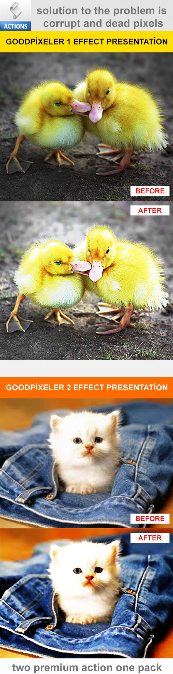 Good Pixeler Actions - Photo Effects Actions