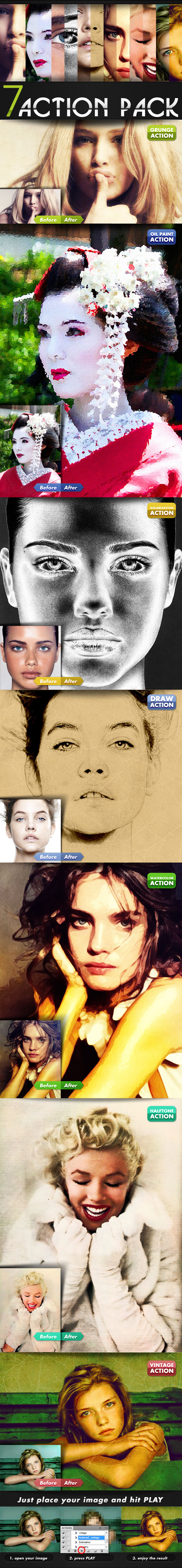 Photoshop Action Pack - Actions Photoshop