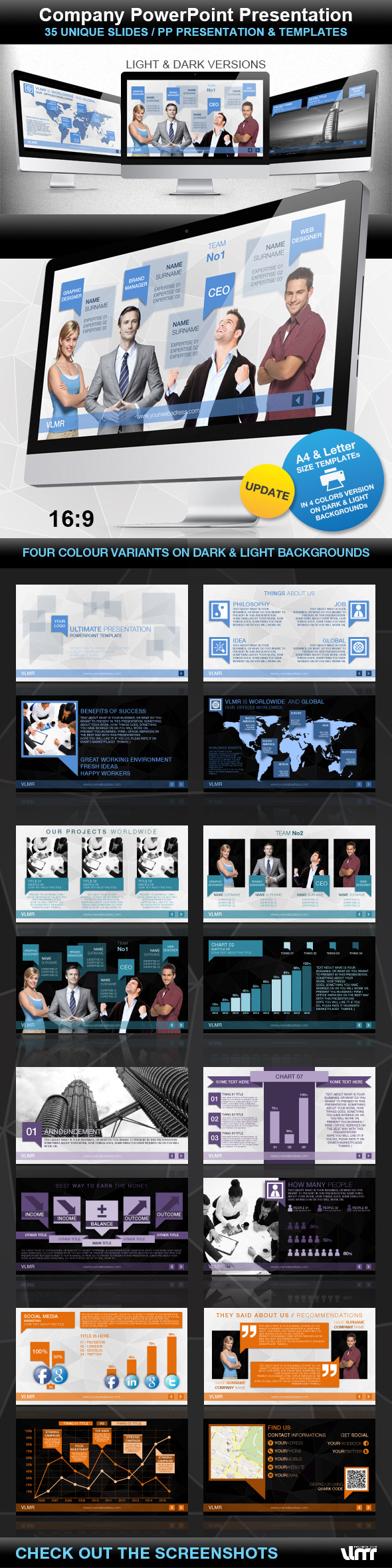 Company PowerPoint Presentation - Business PowerPoint Templates