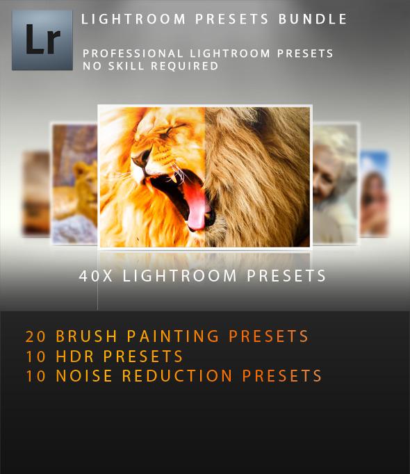 40x Premium Lightroom Presets Bundle - Lightroom Presets Add-ons