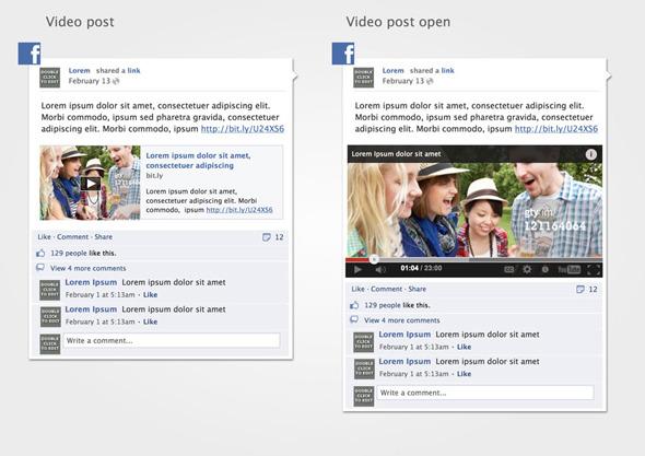 facebook post mockup