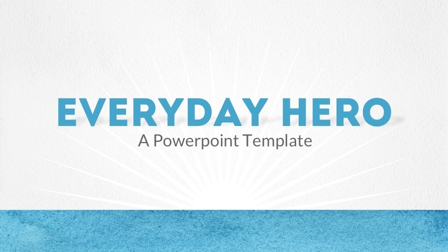 Everyday hero powerpoint template by 83munkis graphicriver finalscreenselections01everydayheroaquag toneelgroepblik Image collections