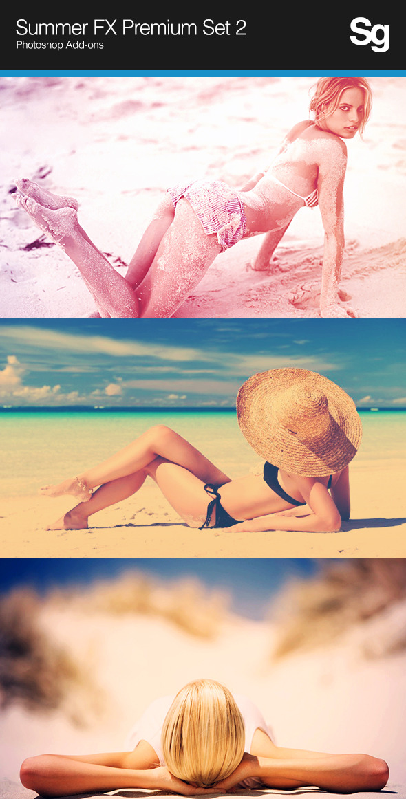 Summer FX Premium Set 2 - Photo Effects Actions